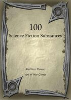 100 Science Fiction Substances