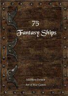 75 Fantasy Ships