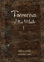 Taverns of the Week 1