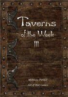 Taverns of the Week 3