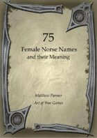 75  Female Norse Names and Their Meaning