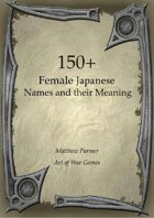 150+  Female Japanese Names and Their Meaning