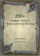 200+  Female African Names and Their Meaning