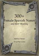 300+  Female Spanish Names and Their Meaning