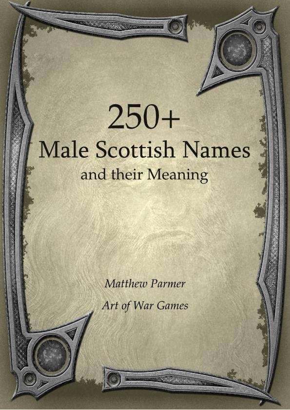 Male Scottish Names 82