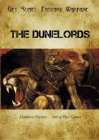 Get Some! Fantasy Warfare: The Dunelords Army List