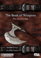 The Book of Weapons:The Axe of Kardak