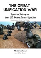 The Great Unification War Campaign: Operation Redemption: Ghost 263 Ground Action: Eight ball: Compatible with Dirtside II and FUBAR