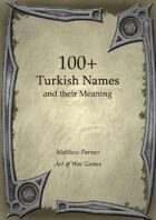 100+  Turkish Names and Their Meaning
