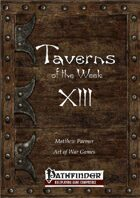 Taverns of the Week 13