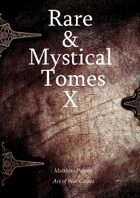Rare and Mystical Tomes 10