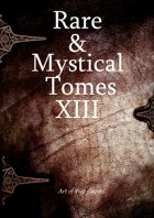 Rare and Mystical Tomes 13