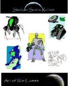 Stock Art Series Robots