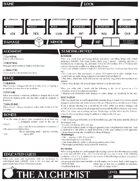 The Alchemist - Dungeon World Playbook