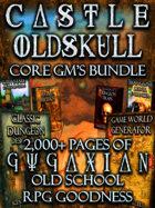 CASTLE OLDSKULL Core Game Master's Bundle [BUNDLE]