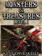CASTLE OLDSKULL - Monsters & Treasures Level 1