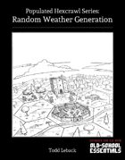 Random Weather Generation