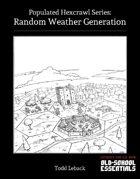 Random Weather Generation
