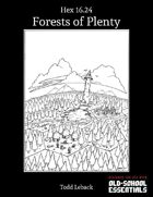 Forest of Plenty -- Hex 16.24