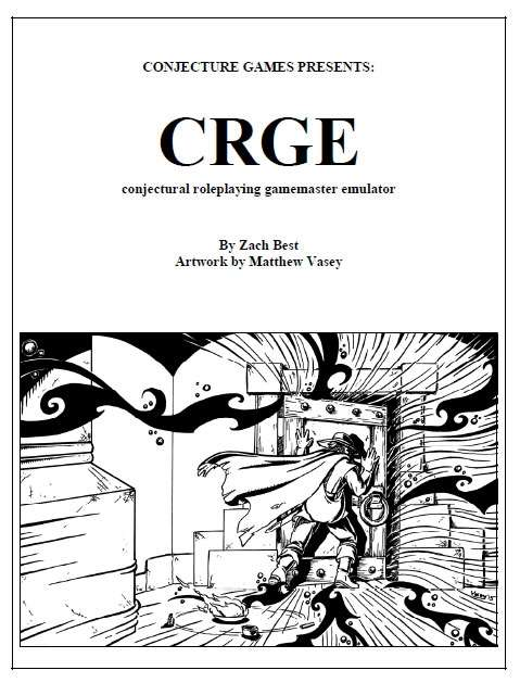 CRGE, Conjectural Roleplaying GM Emulator