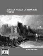 Dungeon World GM Resources Volume 1