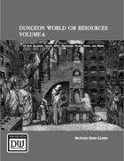 Dungeon World GM Resources Volume 4