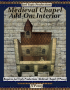 Medieval Chapel Add-On: Interior
