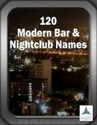 120 Modern Bar & Nightclub Names