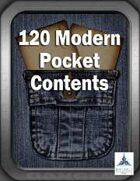 120 Modern Pocket Contents