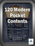 120 Modern Pocket Contents