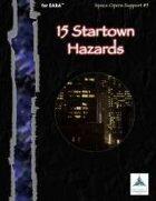 15 Startown Hazards (EABA)