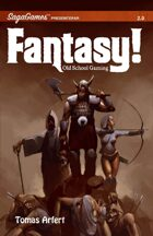 Fantasy! - Old School Gaming. Swedish version.