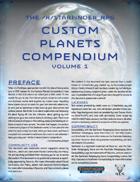 Custom Planets Compendium Volume 1