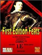 First Edition Feats