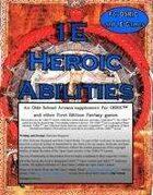 1E Heroic Abilities