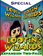 Lootin' Wizards: Expansion Two-Pack [BUNDLE]