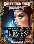 Cultures of Celmae: Elves