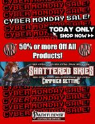 """ Shattered Skies Cyber Monday Sale"" [BUNDLE]"