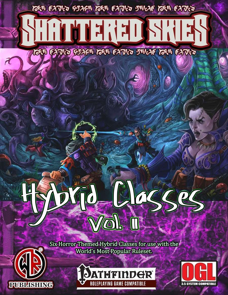 Hybrid Classes Vol. 2: Horror Heroes