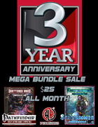3 Year Anniversary Sale [BUNDLE]