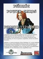 Psionics Power Cards: Psionics Expanded