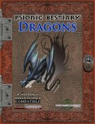 Psionic Bestiary: Dragons