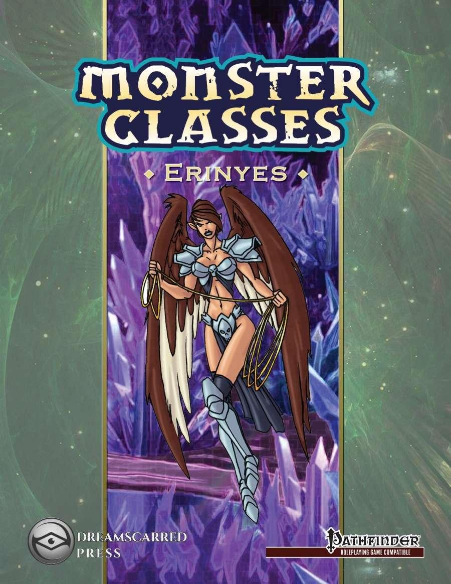 Monster Classes: Erinyes - Dreamscarred Press   Pathfinder    DriveThruRPG com