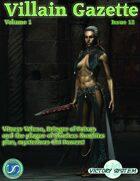Villain Gazette, Volume 1, Issue 12