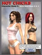 Hot Chicks Character Sketches 3: Girls Next Door 2 & 3