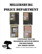 Millersburg Police Department Battle Map - A Police Department Overrun with Zombies