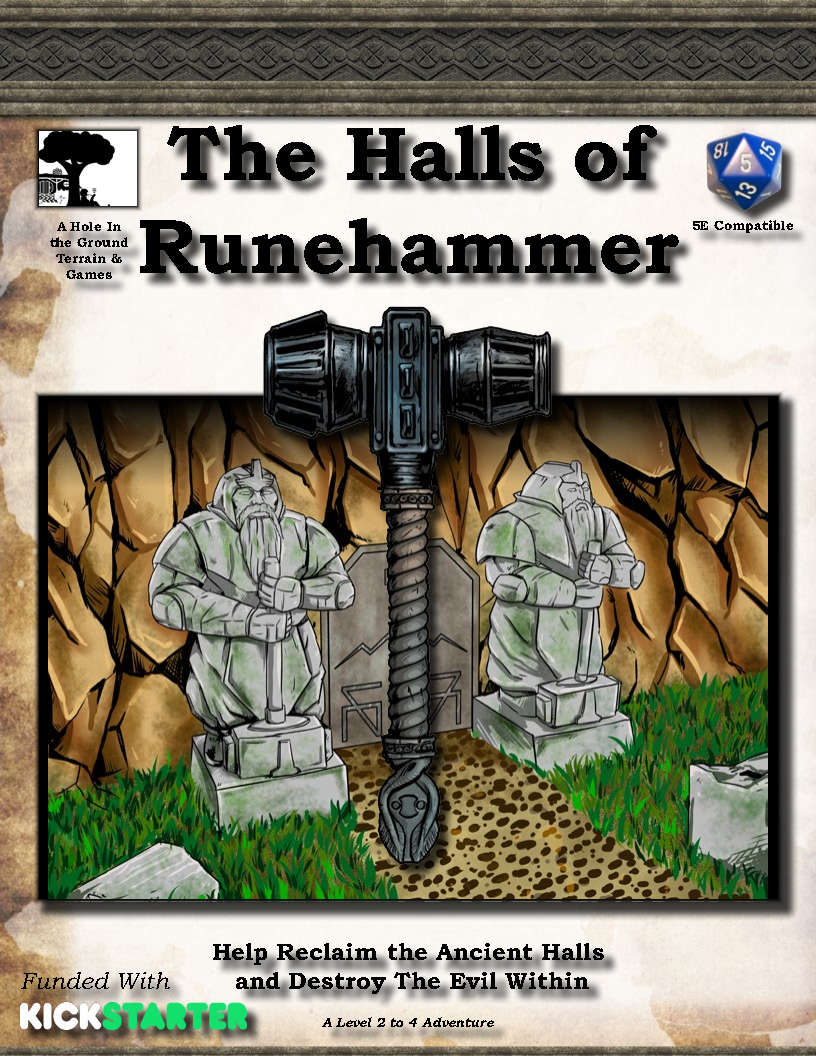 Cover of The Halls of Runehammer