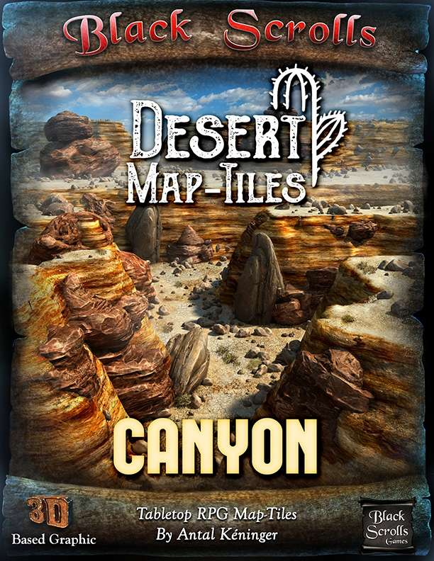 Desert Map-Tiles Canyon