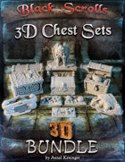 3D Printable Chests [BUNDLE]