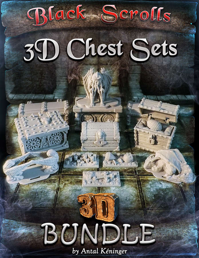 3D Printable Chests [BUNDLE]